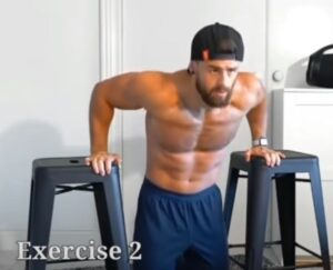triceps exercise alternate at home
